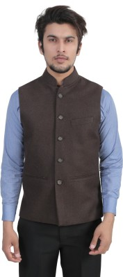 7 Fashions Colors Sleeveless Solid Men's Jacket