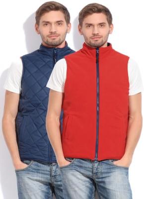 Status Quo Sleeveless Solid Men's Jacket