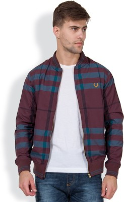 The Indian Garage Co. Full Sleeve Checkered Men,s Jacket