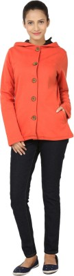 Ruse Full Sleeve Solid Women,s Casual Jacket