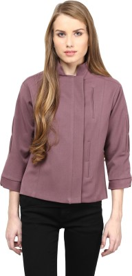 Rare 3/4 Sleeve Solid Women's Jacket