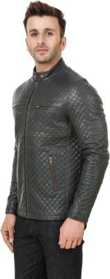 PerryJones Full Sleeve Solid Mens Jacket