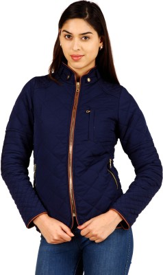 Hermosear Full Sleeve Solid Women's Quilted Jacket