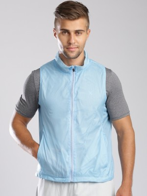 HRX by Hrithik Roshan Sleeveless Solid Mens Jacket