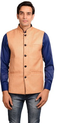 Mild Kleren Sleeveless Solid Men's Jacket