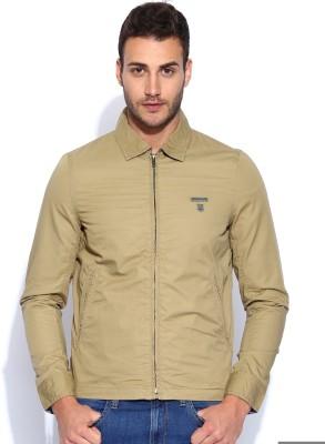 Lee Full Sleeve Solid Men,s Jacket
