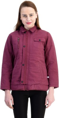 Zupe Full Sleeve Self Design Women's Jacket
