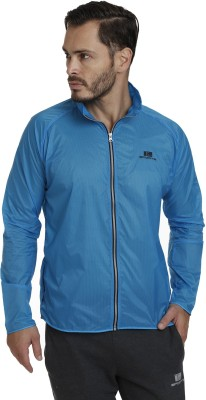 T10 Sports Full Sleeve Self Design Men's Jacket