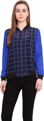 Blink Full Sleeve Checkered Women's Jacket