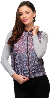 Yepme Sleeveless Printed Women,s Jacket