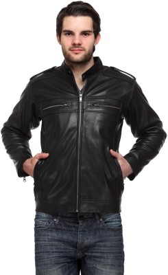 Davie Jones Full Sleeve Solid Men,s Jacket
