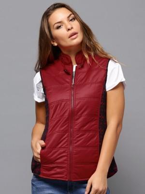 Roadster Sleeveless Solid Women's Jacket