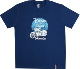 Honda Self Design Men's Round Neck Blue ...