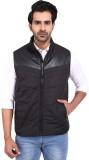 Provogue Sleeveless Solid Men's Jacket