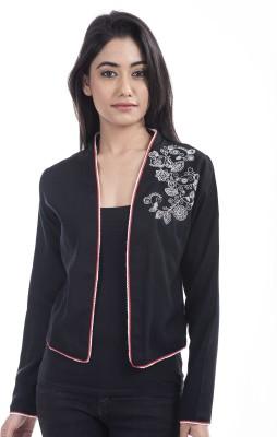 Tasrika Full Sleeve Solid Women's Jacket