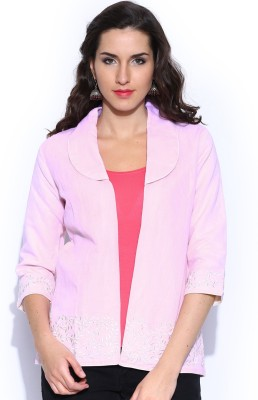 Anouk 3/4 Sleeve Embroidered Women's Quilted Jacket