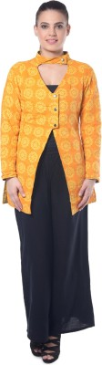 Lavennder Full Sleeve Printed Women's Jacket