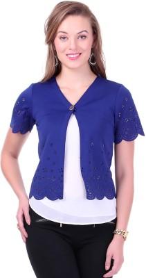 Sassafras Half Sleeve Solid Women's Jacket