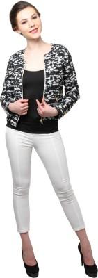 XnY Full Sleeve Self Design Women's Jacket