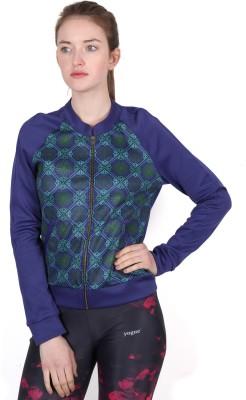 Yogue Full Sleeve Printed Women's Jacket