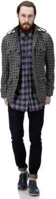 Bareskin Full Sleeve Solid Men,s Jacket