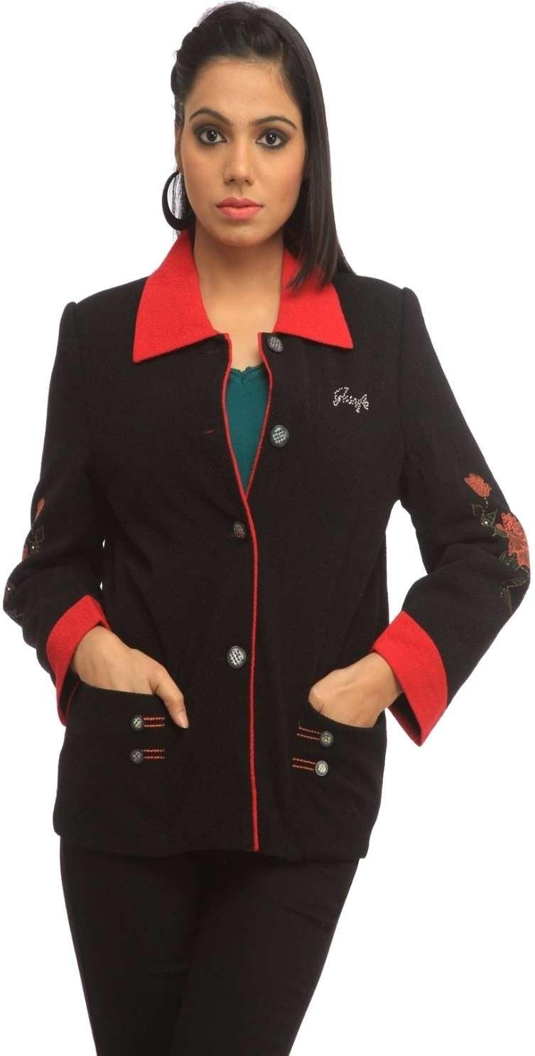 Cottinfab Full Sleeve Printed Womens Jacket Jacket