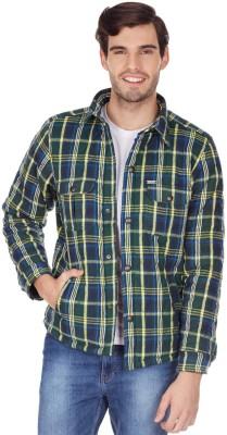 American Swan Full Sleeve Checkered Men's Jacket