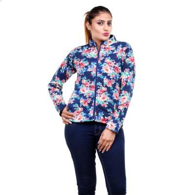 Clotone Full Sleeve Printed Women's Jacket