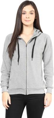 Hypernation Full Sleeve Solid Women,s Casual Jacket