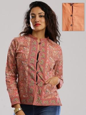 Anouk Full Sleeve Printed Women's Jacket
