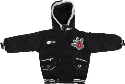 Ishika Garments Full Sleeve Solid Boy's Jacket