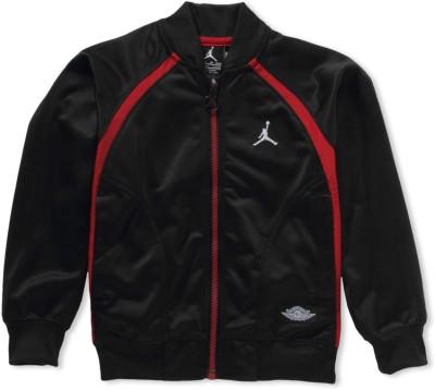 Jordan Kids Full Sleeve Solid Boy's Quilted Jacket