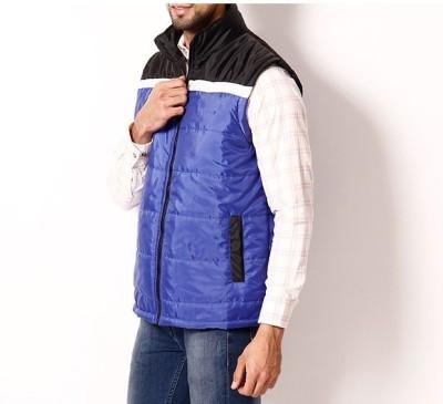 Winter Jackit Half Sleeve Self Design Men's Jacket