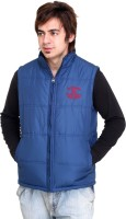 Trufit Sleeveless Solid Mens Bomber Jacket