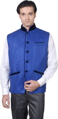 Amafhh Sleeveless Solid Men's Nehru Jacket