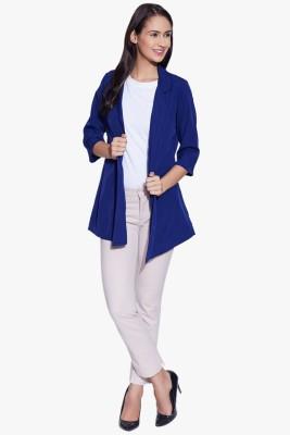 Fugue 3/4 Sleeve Solid Women's Jacket