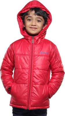 KARROT by Shoppers Stop Full Sleeve Solid Baby Boy's Quilted Jacket