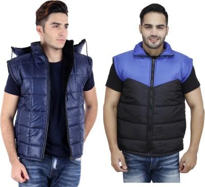 Christy World Sleeveless Solid Men's Jacket