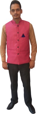 Flair Sleeveless Solid Men's Jacket