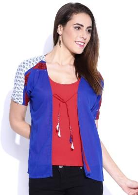 Anouk Half Sleeve Solid Women's Jacket