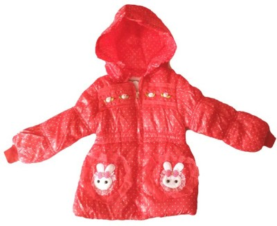 Fusion Fashion Full Sleeve Printed Girls Quilted Jacket