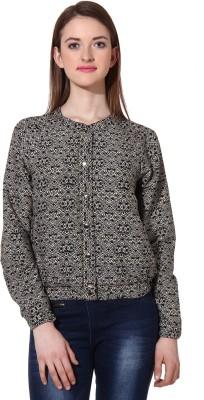 Oxolloxo Full Sleeve Printed Women's Jacket