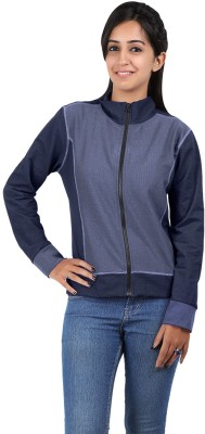 Hbhwear Full Sleeve Solid Women's Quilted Jacket