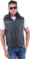 Oceanic Sleeveless Solid Mens Jacket