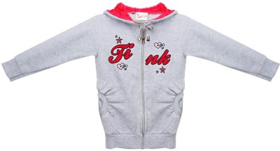 Eimoie Full Sleeve Embroidered Girls Jacket