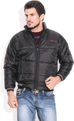 Alaska Full Sleeve Solid Men's Quilted Jacket
