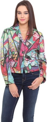 Mago Full Sleeve Printed Women's Jacket