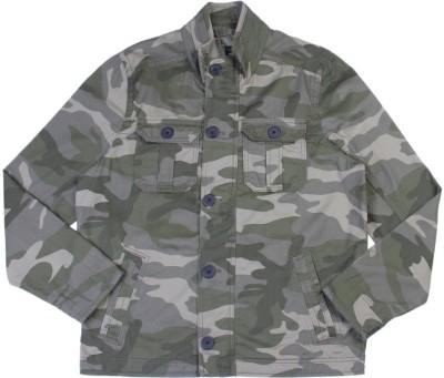 United Colors of Benetton Full Sleeve Printed Men's Denim Jacket