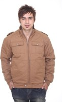 Trufit Full Sleeve Solid Mens Bomber Jacket