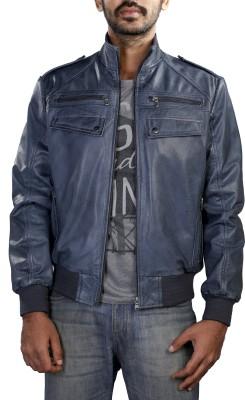 Theo&Ash Full Sleeve Solid Men's Bomber Jacket